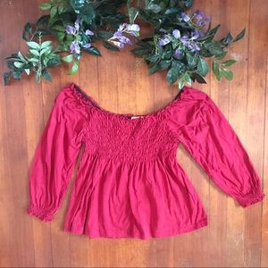 Peace On Earth by Next Era Bright Peasant Top